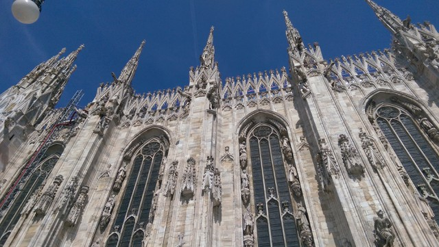 Image for Roof of Milano's Gigantic Cathedral