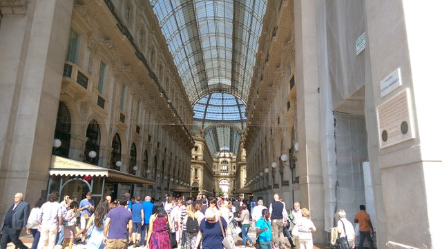 Image for Galleria Vittorio Emanuell II, in Milano Italy