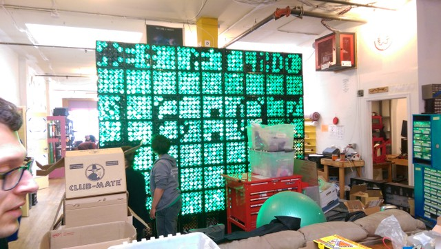 Image for LED wall at Noisebridge